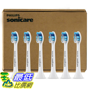 [美國直購] Philips Sonicare 電動 牙刷頭 Gum Care Brush Head 6-Pack 適用DiamondClean/FlexCare _C947862
