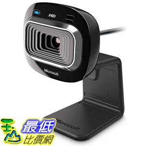 [美國直購] Microsoft LifeCam HD-3000 Webcam - Black (T3H-00011) 720p HD 攝像頭