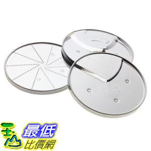 [美國直購] Cuisinart DLC-893 食物調理機周邊 3-Piece Specialty Disc Set 適用 7杯 11杯 攪拌機