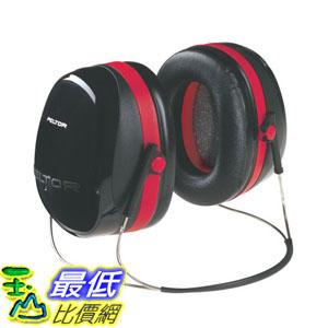 [美國直購] 3M Peltor H10B 耳罩  Optime 105 Behind-the-Head Earmuff with Neckband 頸後式 可載安全帽配戴 H10A可參考