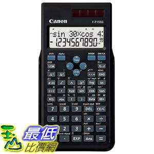 [東京直購] Canon F-715SG-BK SOB 科學函數 計算機 科學用計算機