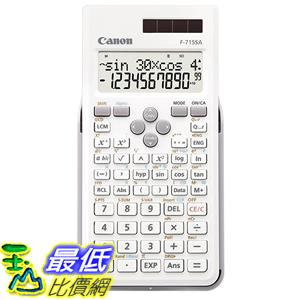 [東京直購] Canon F-715SA-WH SOB 科學函數 計算機 科學用計算機