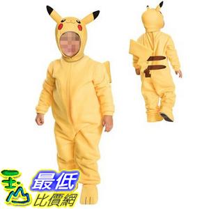 [美國直購] 神奇寶貝 精靈寶可夢周邊 Pokemon B01D91S3D2 Pikachu Toddler Costume for Toddler