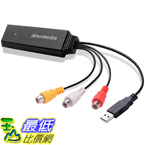 [美國直購] AVerMedia (ET111) Video Converter, Convert Composite / RCA / AV Signals to HDMI Format Cable Adapeter 轉接頭