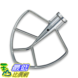 [美國直購] KitchenAid KN256BBT 攪拌機配件 攪拌頭 Burnished Flat Beater Fits KV25G and KP26M1X