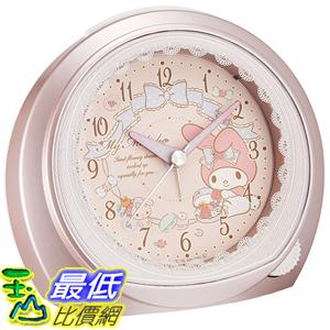 [東京直購] SEIKO CLOCK CQ143P 美樂蒂兔 My Melody 時鐘 鬧鐘 alarm clock