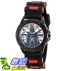 [美國直購] Star Wars Kids' STW3434 Analog Display Quartz Black Watch 星際大戰 兒童 手錶