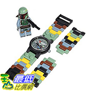 [美國直購] LEGO 9003363 Boba Fett 兒童手錶 Star Wars Plastic Watch 波巴 費特 星際大戰