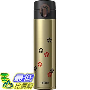 [東京直購] THERMOS 日本製 JOA-400GL 金 0.4L 一觸式 不鏽鋼 真空斷熱 水壺