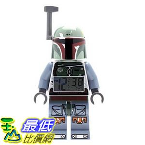 [美國直購] LEGO 9003530 Boba Fett 波巴 費特 人偶鬧鐘 Kids' Star Wars Mini-Figure Alarm Clock 星際大戰