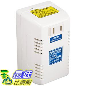 [東京直購] 日章工業 降壓器 (型號DE-200) 220~240V(50Hz) 降至100V 2000W