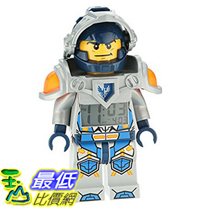 [美國直購] LEGO 9009419 Clay 克雷·穆林頓 人偶鬧鐘 Kids' Ninjago Nexo Kights Mini-Figure Alarm Clock 未來騎士團
