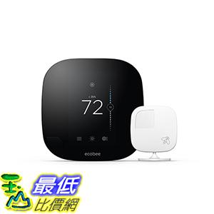 [美國直購] ecobee3 Smarter Thermostat with Remote Sensor, 2nd Generation 適 Amazon Alexa /Echo Dot