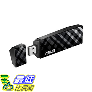 [美國直購] Asus Dual Band (2.4GHz 300Mbps/5GHz 300Mbps) USB Adapter (USB-N53) 華碩 適配器