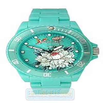 [美國直購 ShopUSA] Ed Hardy 手錶 VIP 2 Aqua Dial Women's watch #VP2-FL $1780