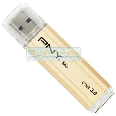 [美國直購 ShopUSA] PNY 閃存驅動器 BAR Attache 32GB USB 3.0 Flash Drive Stick Thumb Disk Memory Metal Gold $2060