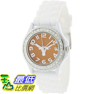 [美國直購 ShopUSA] Geneva 手錶 Platinum 6886TEX.White.Orange (Women's) _mr$858