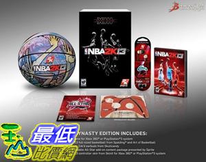 [玉山最低比價網]  (全新未拆) PS3 NBA 2K13 Dynasty Edition (王朝版)_AA5$2788