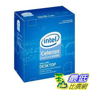 [美國直購 ShopUSA] Intel 處理器 Celeron E3400 Processor 2.60 GHz 1 MB Cache Socket LGA775 $2230