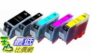 [美國直購ShopUSA] Canon 油墨 Pixma 20 Pack 4BK/4BK/4C/4M/4Y Non-OEM Ink Combo for PGI-220 CLI-221 (_P031)