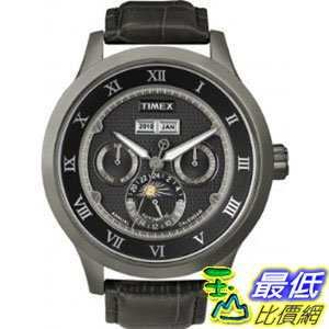 [美國直購 ShopUSA] Timex 手錶 SL Series Automatic Leather Strap Black Dial Men's watch #T2N289