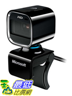 [美國直購 ShopUSA] Microsoft 網絡攝像頭 LifeCam HD-6000 720p HD Webcam for Notebooks - Black $1888