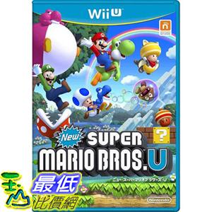 (現金價) Wii U 遊戲 新 超級瑪利歐兄弟 U /New Super Mario Bros. U (日版)_AC1 $1580
