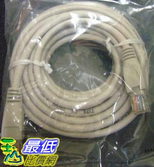 _B@[玉山最低比價網 有現貨] 高優質 5米 Cat 5e UTP 網路線 8芯 RJ45水晶頭 一體成型 (12066_j2224) $49