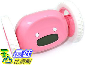 _a@[玉山最低比價網] 會跑的 輪子 電子鬧鐘/時鐘 貪睡功能 也可以當玩具車 (22797_k102) $294