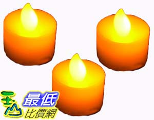 _B@[玉山最低比價網 有現貨]  黃色 LED 電子 蠟燭 造型燈 裝飾燈 增加浪漫氣氛又環保 (22265_W116) $39