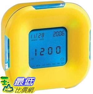 _a@[玉山最低比價網] 多功能 立體 電子四面鐘 使用4號電池3顆 (22213_J013)$59