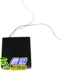 _a[有現貨 馬上寄] 2日限時搶購 3號 x4 電池盒 6V 電池盒 可放4顆3號電池 附蓋子 開關 (34083_L401)  DD