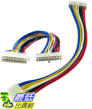 _a@[玉山最低比價網] 20 公分 ATX 20 pin - 20 pin 電源延長線 線材 (12004_p4) d $49