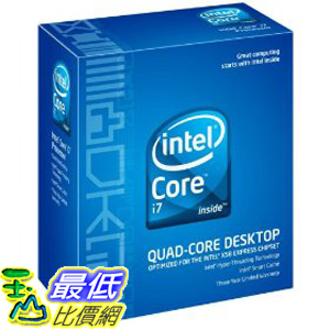 [美國直購 ShopUSA] Intel 原廠 Core i7 920 2.66GHz 8M L3 Cache 4.8GT/sec QPI Hyper-Threading Turbo Boost LGA1366 $11100