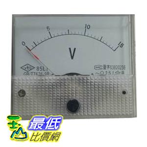 _a[玉山最低比價網] 交流電壓計 電壓表 指針 盤用方型  0~15V  (34111B_L403) $79