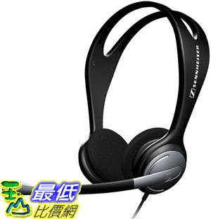 [美國直購 ShopUSA] (新款)Sennheiser 頭戴式耳機 PC131 Over-The-Head Binaural Headset with Adjustable Boom Mic $1398