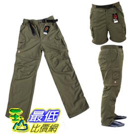 @[玉山最低比價網] 瑞士軍刀(可拆卸兩穿)兩截速幹褲/快幹褲 dh014