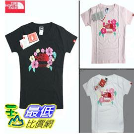 [玉山最低比價網] 專櫃新款TNF女款排汗速幹快幹衣全棉植絨印標圓領T恤 dh001 $825