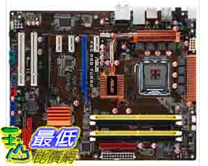 [美國直購] Asus 主機板 P5Q PRO Turbo Core 2 Quad/ Intel P45/ DDR2-1300/ A&GbE/ ATX Motherboard $5290