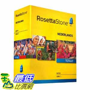 [美國直購ShopUSA] 羅塞塔石碑 Rosetta Stone V4 TOTALe: Dutch Level 1 $9712