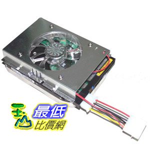 [玉山最低比價網] 鋁合金 3.5 吋 單風扇 硬碟散熱器 幫助硬碟散熱 (23038_KA12)  $58