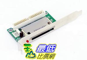 [玉山最低網]  桌上型 PC專用 機殼背擋板型 CF記憶卡 轉 IDE 擴充界面卡 (20681_g209)  $88