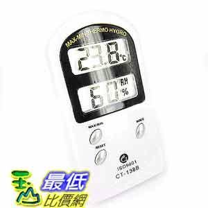 [玉山最低比價網] 數位式 電子式 LCD 溫度計10℃~60℃ 濕度計20%RH~90%RH (221313_j221) d $328