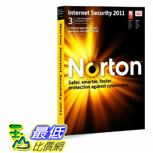 [美國直購 ShopUSA] 諾頓網路安全特警 Norton Internet Security 2011 - 1 User/3 Pc $1759