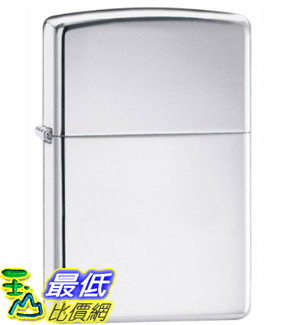 [美國直購 ShopUSA] Zippo High Polish Chrome Pocket Lighter 打火機 250 $846