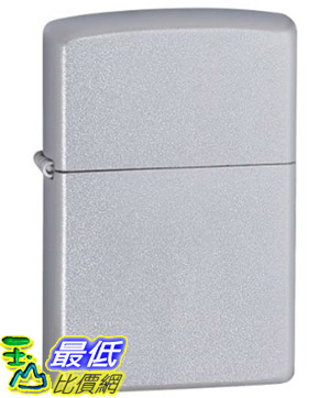 [美國直購 ShopUSA] Zippo Satin Chrome Pocket Lighter 打火機 205 $749