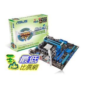 [二手商品] ASUS M4A88TD-V EVO/USB3 Socket AM3 ATX Motherboard  主機板  $3749
