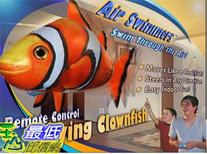 [美國amazon 代購 ]  飛天魚 鯊魚 Air Swimmers Remote Control Flying Clownfish _AS001    $1499