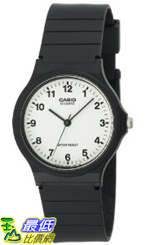 [美國直購 ShopUSA] Casio 手錶 Men's MQ24-7B Analog Black Resin Strap Watch
