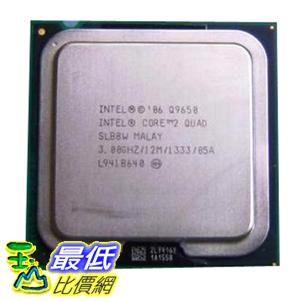 [美國直購 裸裝CPU ] Intel 原廠 Core 2 Quad Q9650 3.0 GHz 12M L2 Cache 1333MHz FSB LGA775 Quad-Core Processor $20884